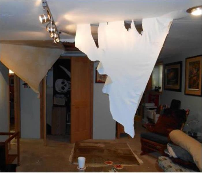 Water Damage – Columbus Home Before