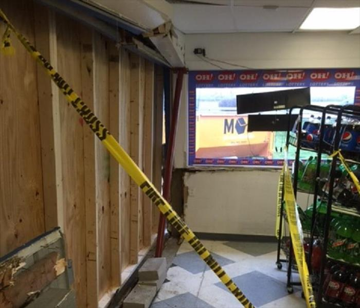 Columbus Convenience Store Cleanup After