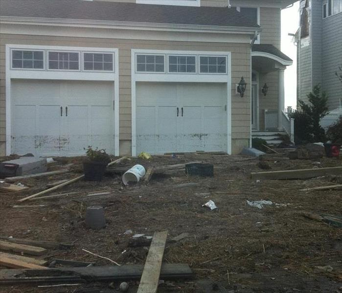 Water Damage from Hurricane Sandy