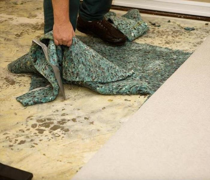 Water Damage Saving Carpeting from Water Damage in Columbus