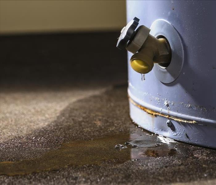 Water Damage Columbus Properties Often Are Impacted by Water Losses--Call SERVPRO for Mitigation